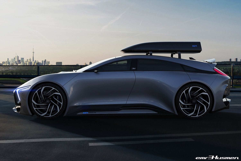 Mercedes-AMG EQR render