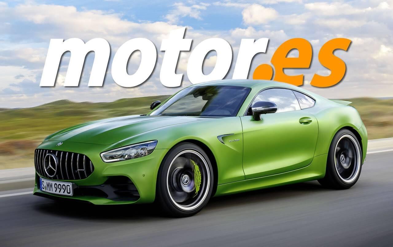 Mercedes-AMG GT 2022 render