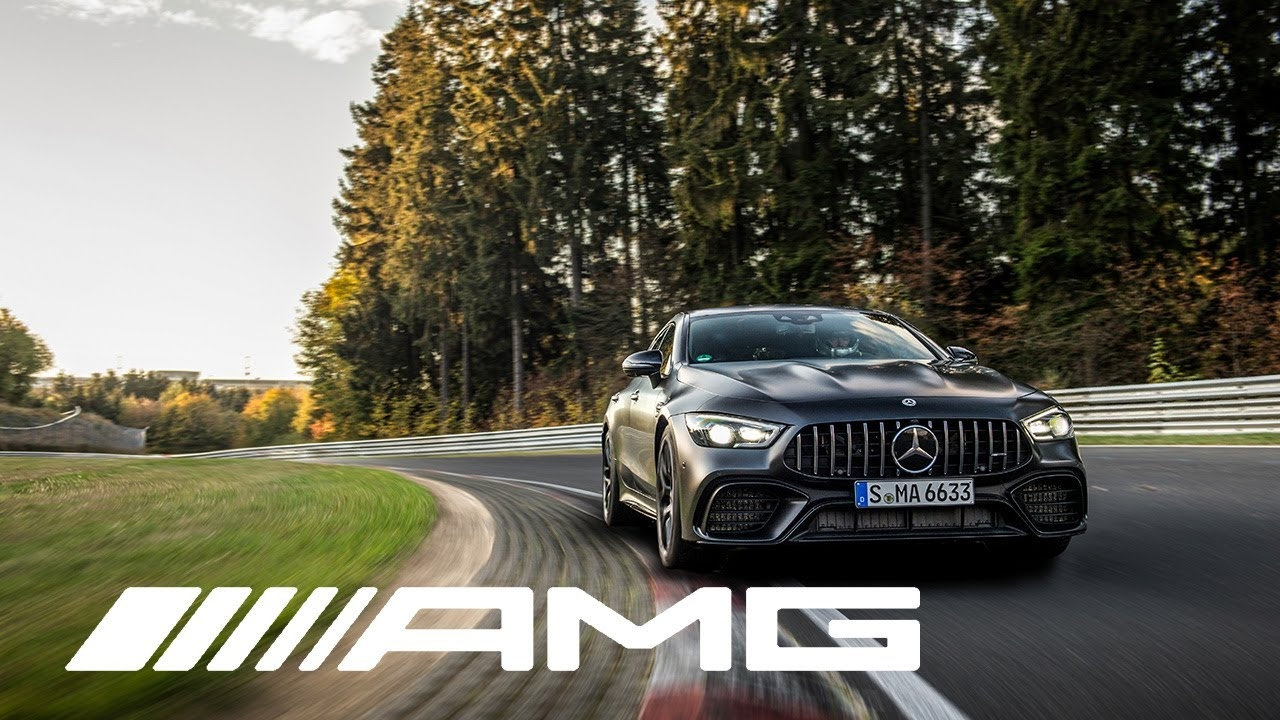 Mercedes-AMG GT 63 S record Nurburgring