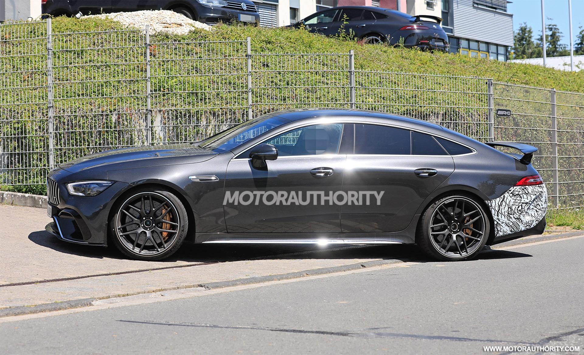 Mercedes-AMG GT 63 e Coupé4 foto spia