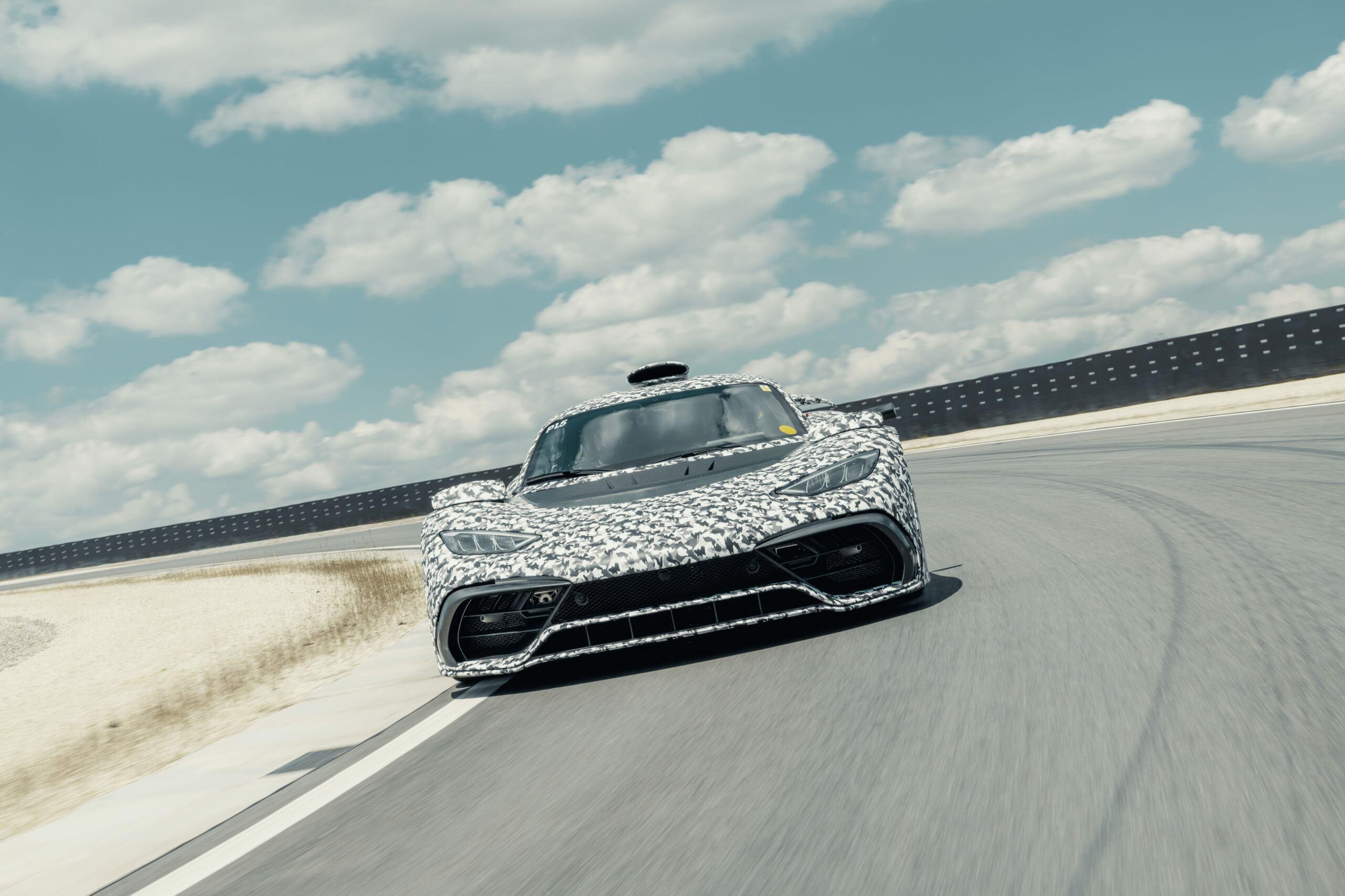 Mercedes-AMG One prototipo produzione