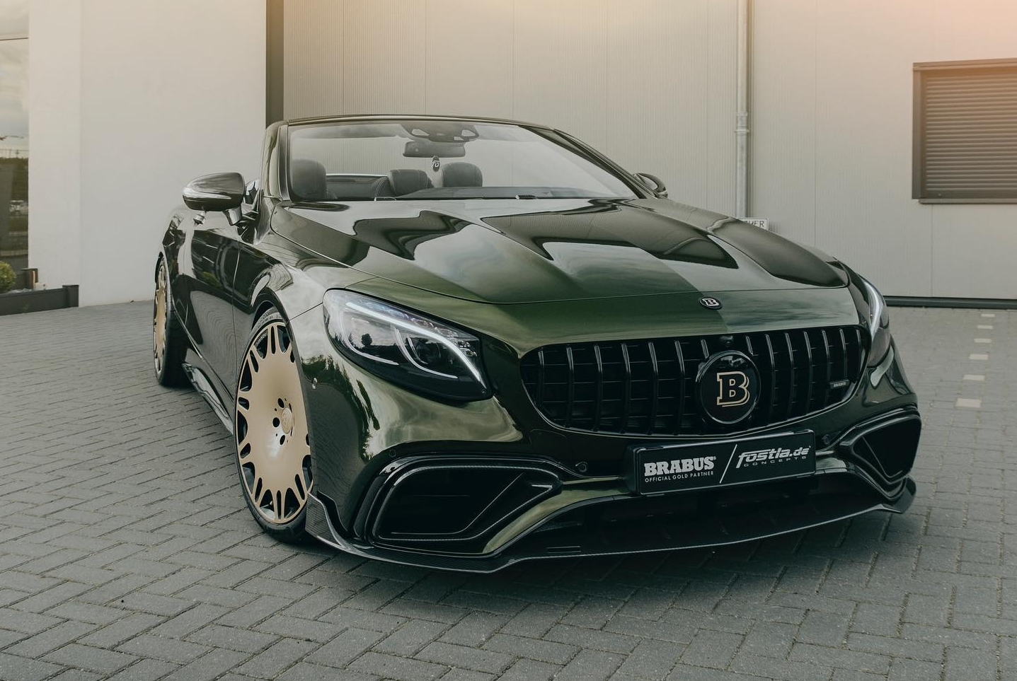 Mercedes-AMG S 63 Cabrio Brabus Fostla