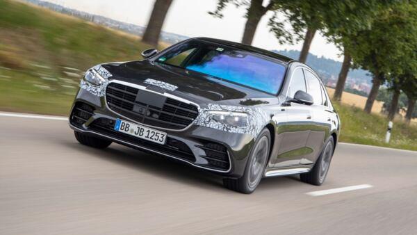 Mercedes-AMG S 63 e anteprima