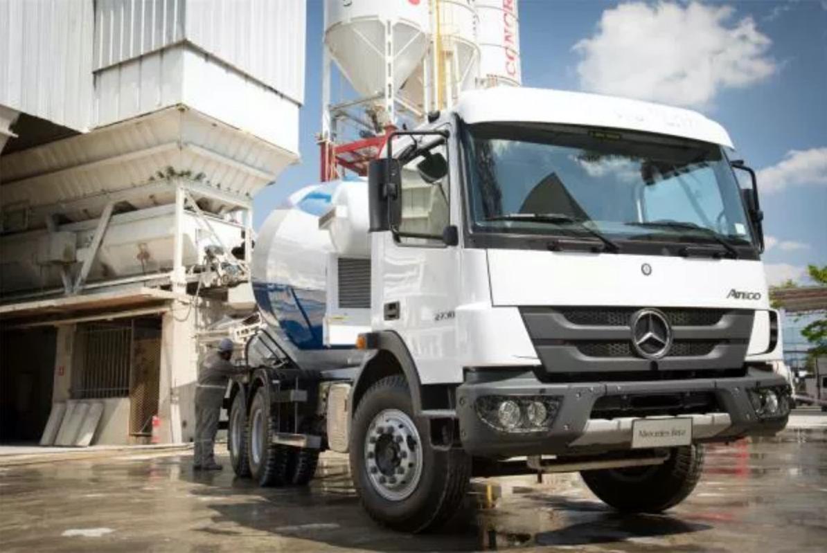 Mercedes Atego 2730 6x4 betoniera