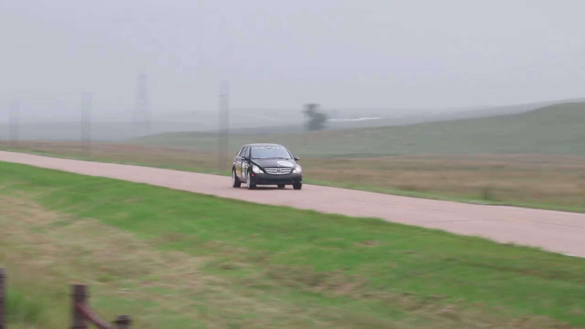 Mercedes-Benz R63 AMG record