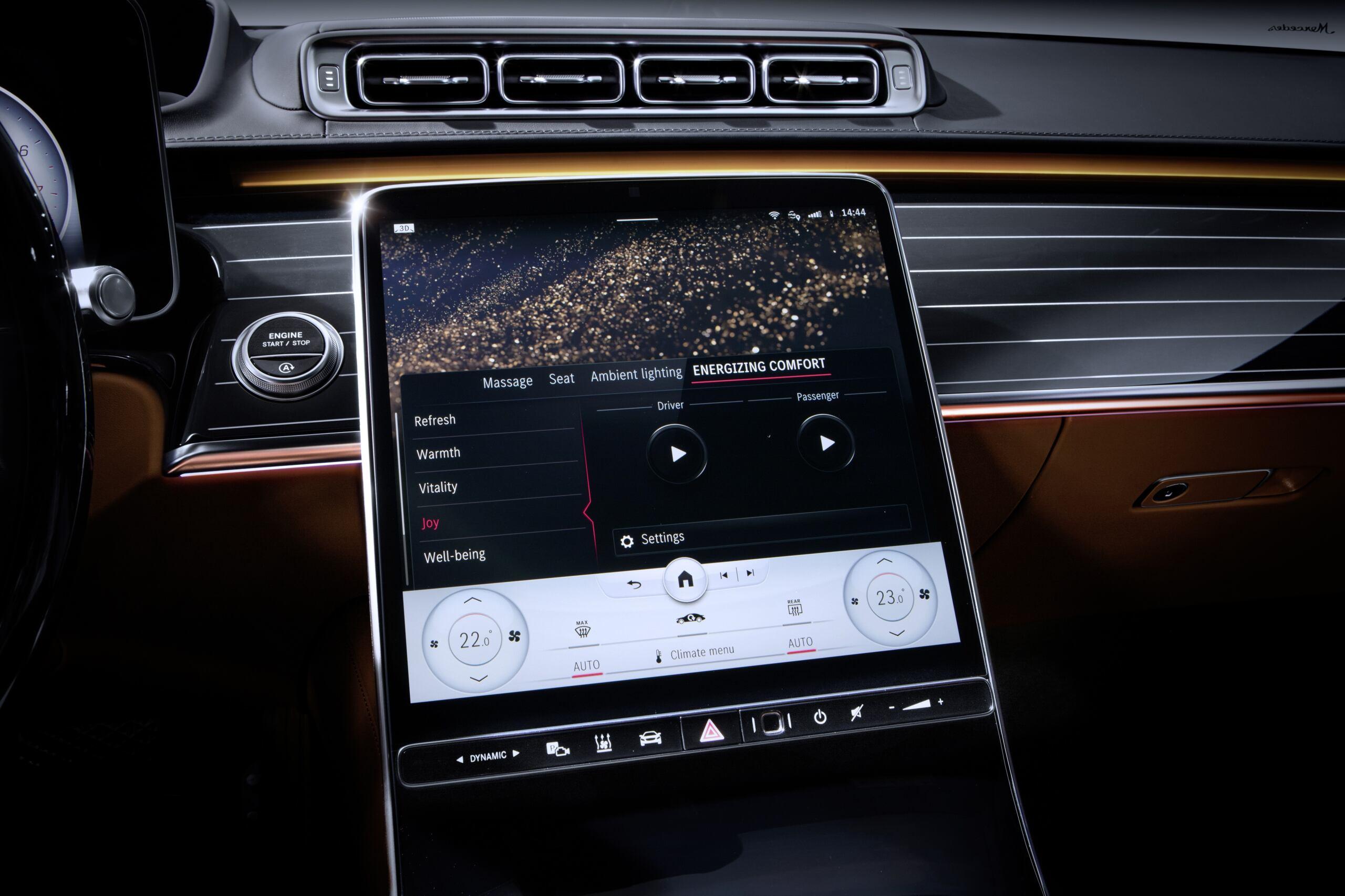 Mercedes Classe S 2021 interni