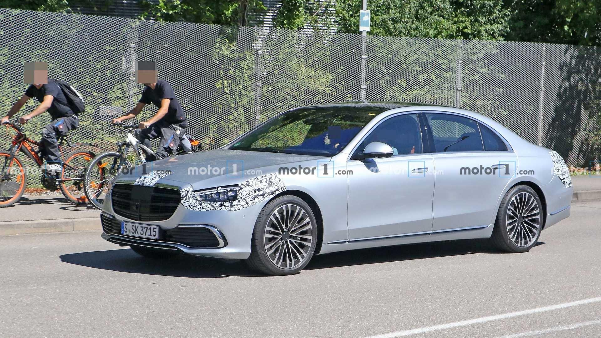 Mercedes Classe S 2021 ultime foto spia