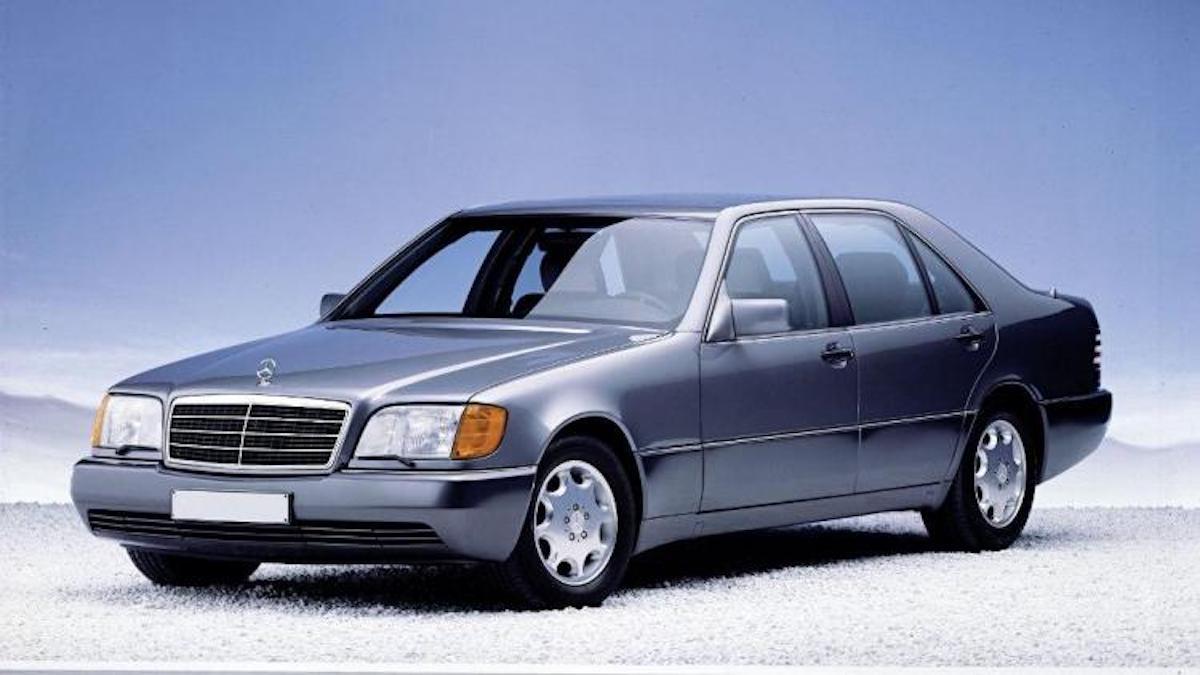 Mercedes Classe S W140