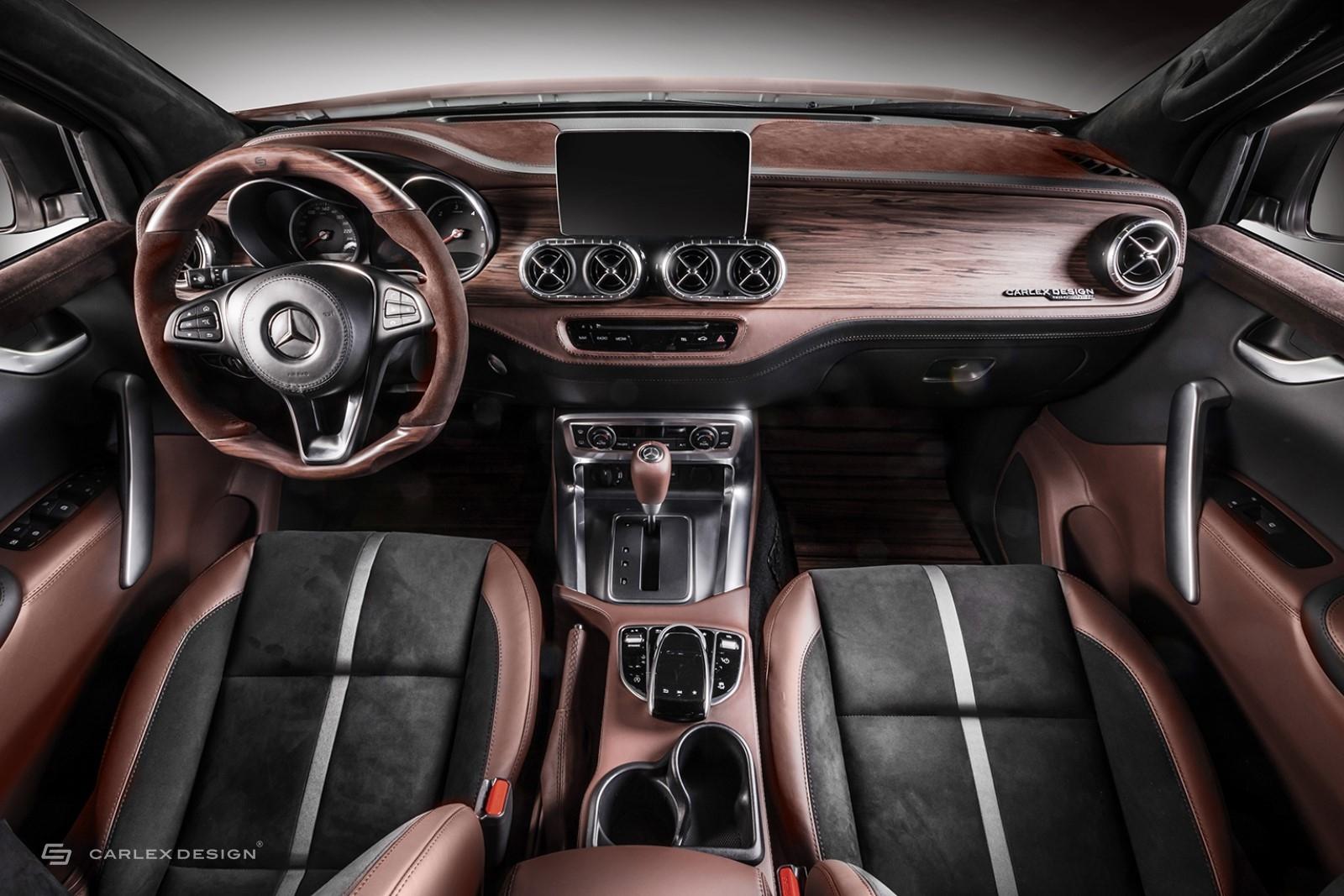 Mercedes Classe X Pickup Design