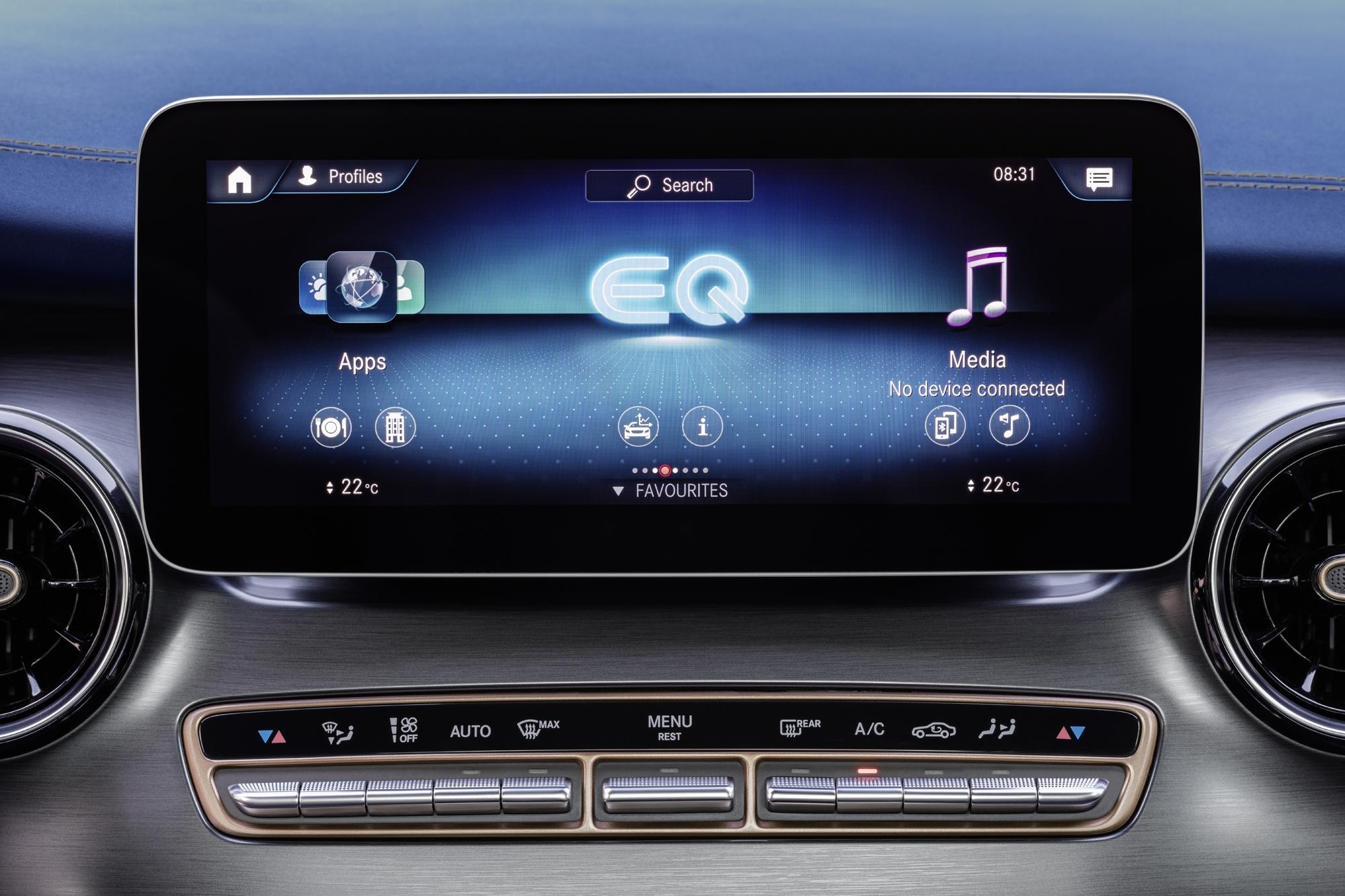 Mercedes EQV Regno Unito