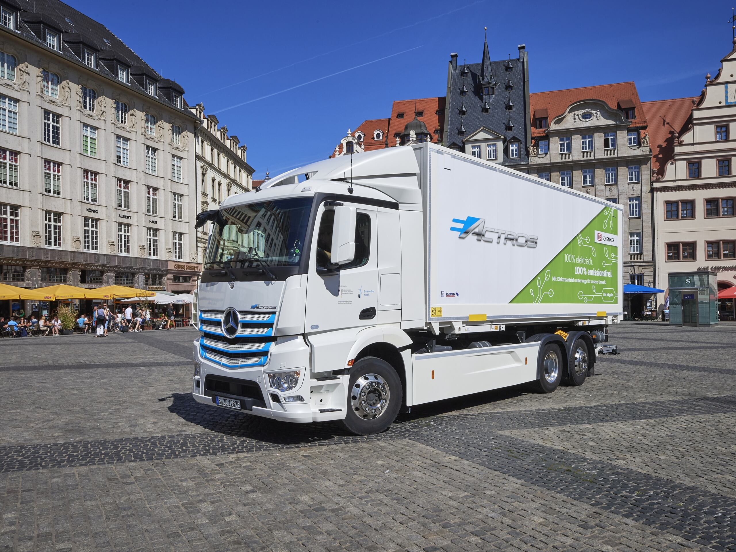 Mercedes eActros DB Schenker