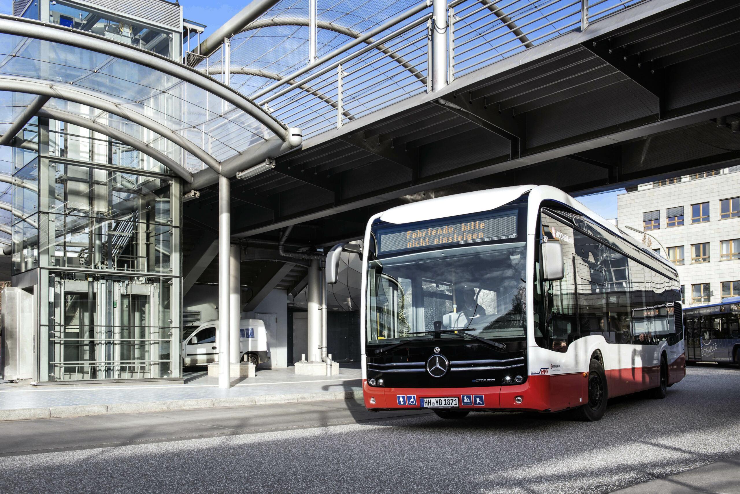 Mercedes eCitaro Hamburger Hochbahn AG