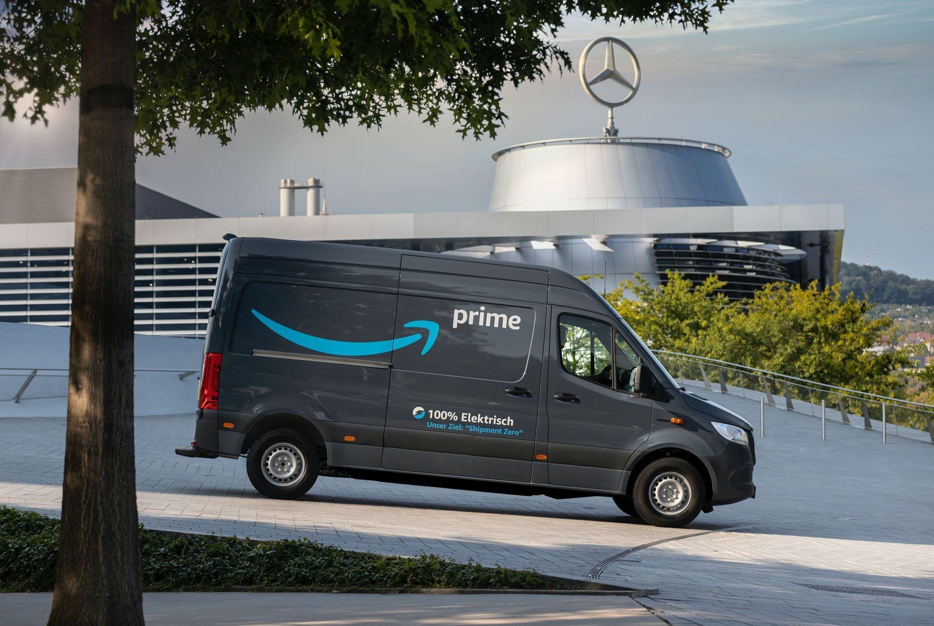 Mercedes eSprinter Amazon
