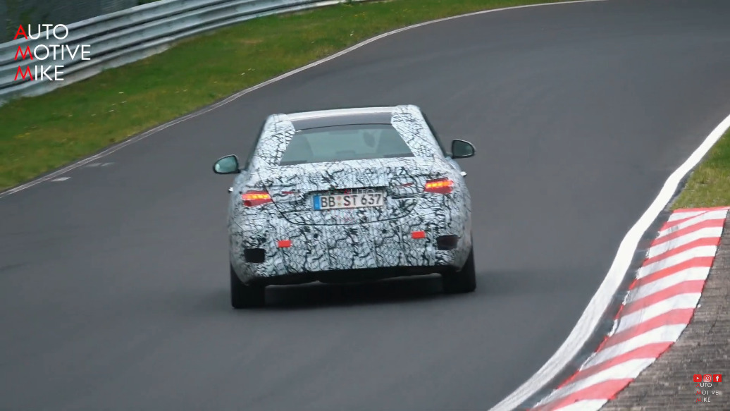 Nuova Mercedes Classe C Nurburgring