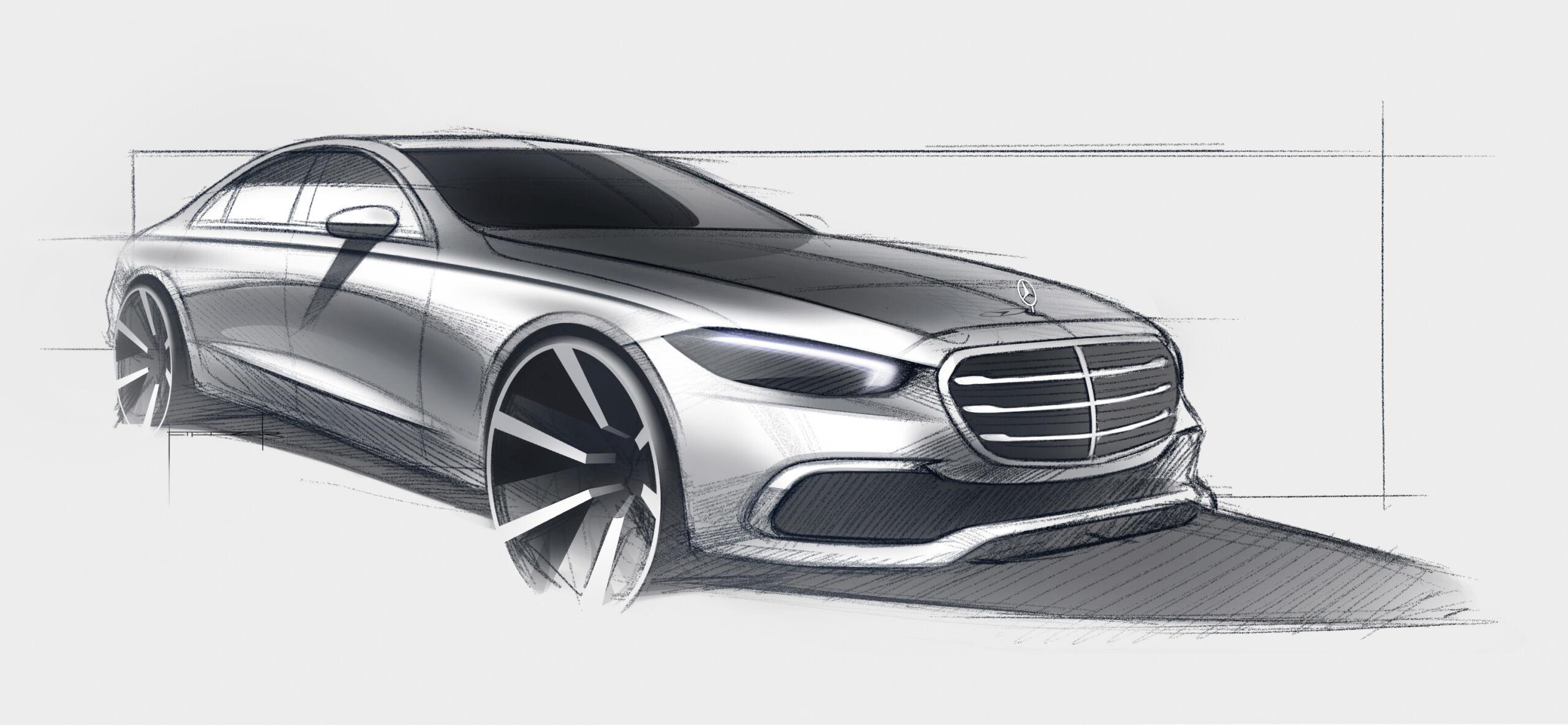 Nuova Mercedes Classe S ultimo teaser