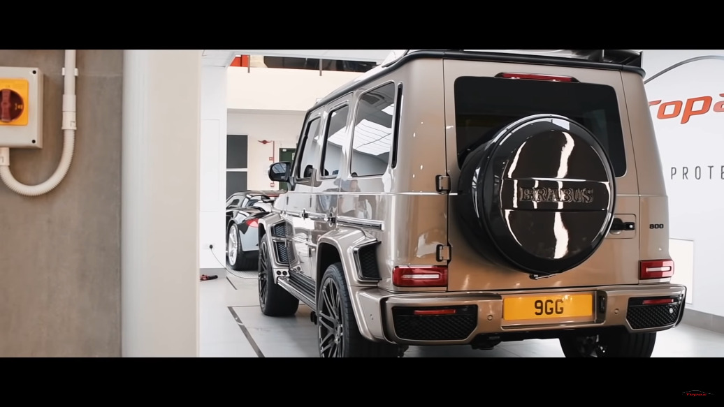 Brabus 800 Widestar Mercedes AMG G 63 Topaz