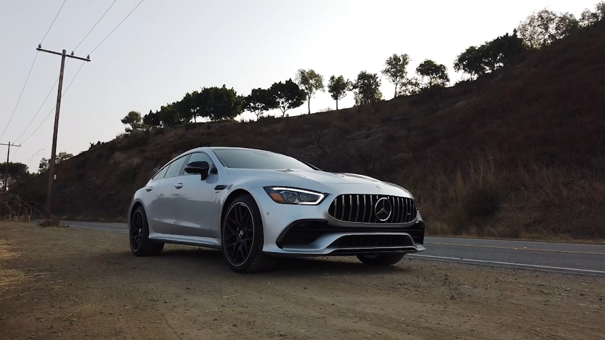 Mercedes-AMG GT 53 TheSmokingTire