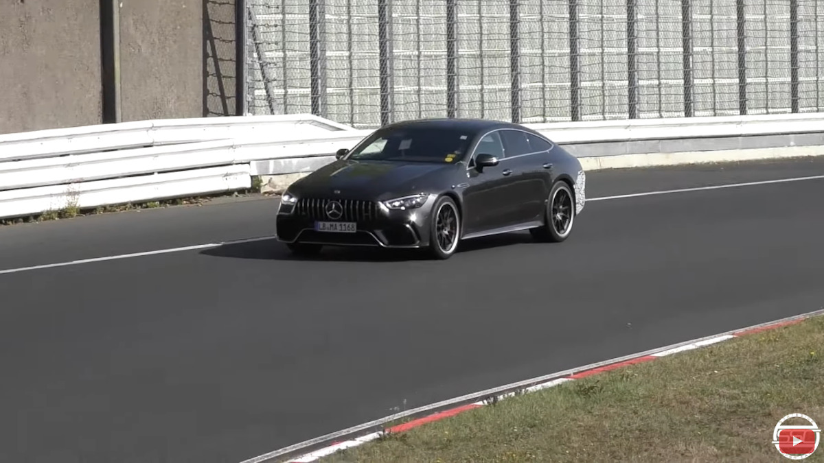 Mercedes-AMG GT 73 e Nurburgring foto spia