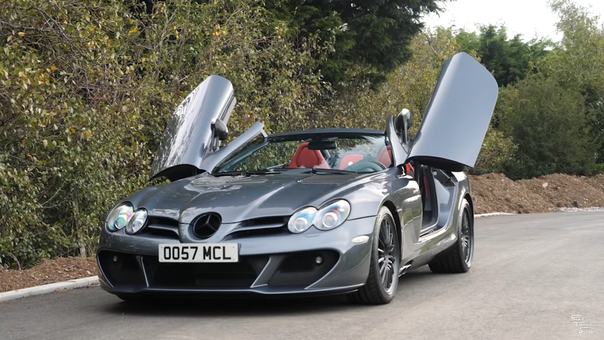 Mercedes-Benz SLR McLaren Edition Roadster MSO