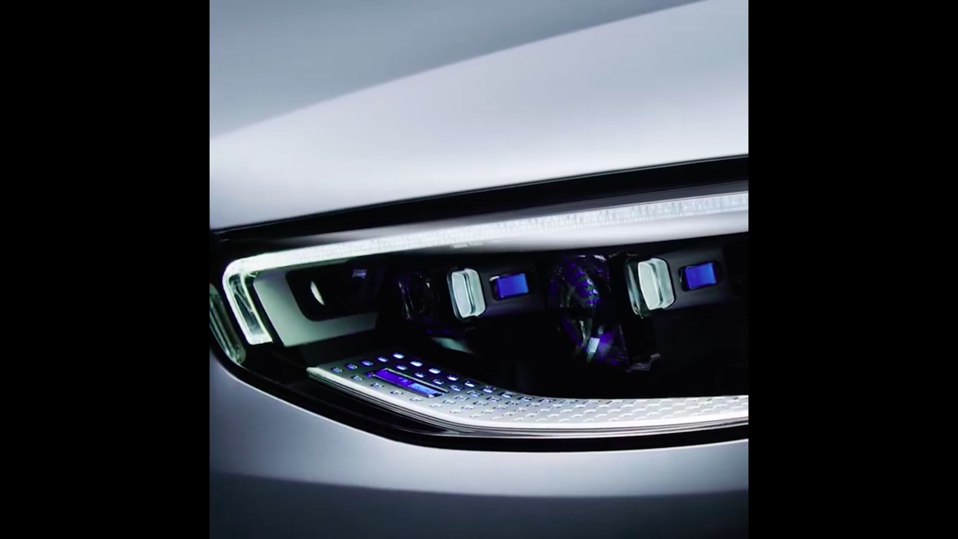 Mercedes Classe S 2021 video teaser