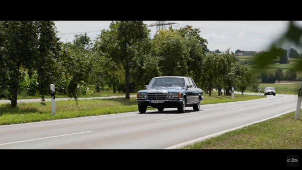 Mercedes Classe S prima generazione video