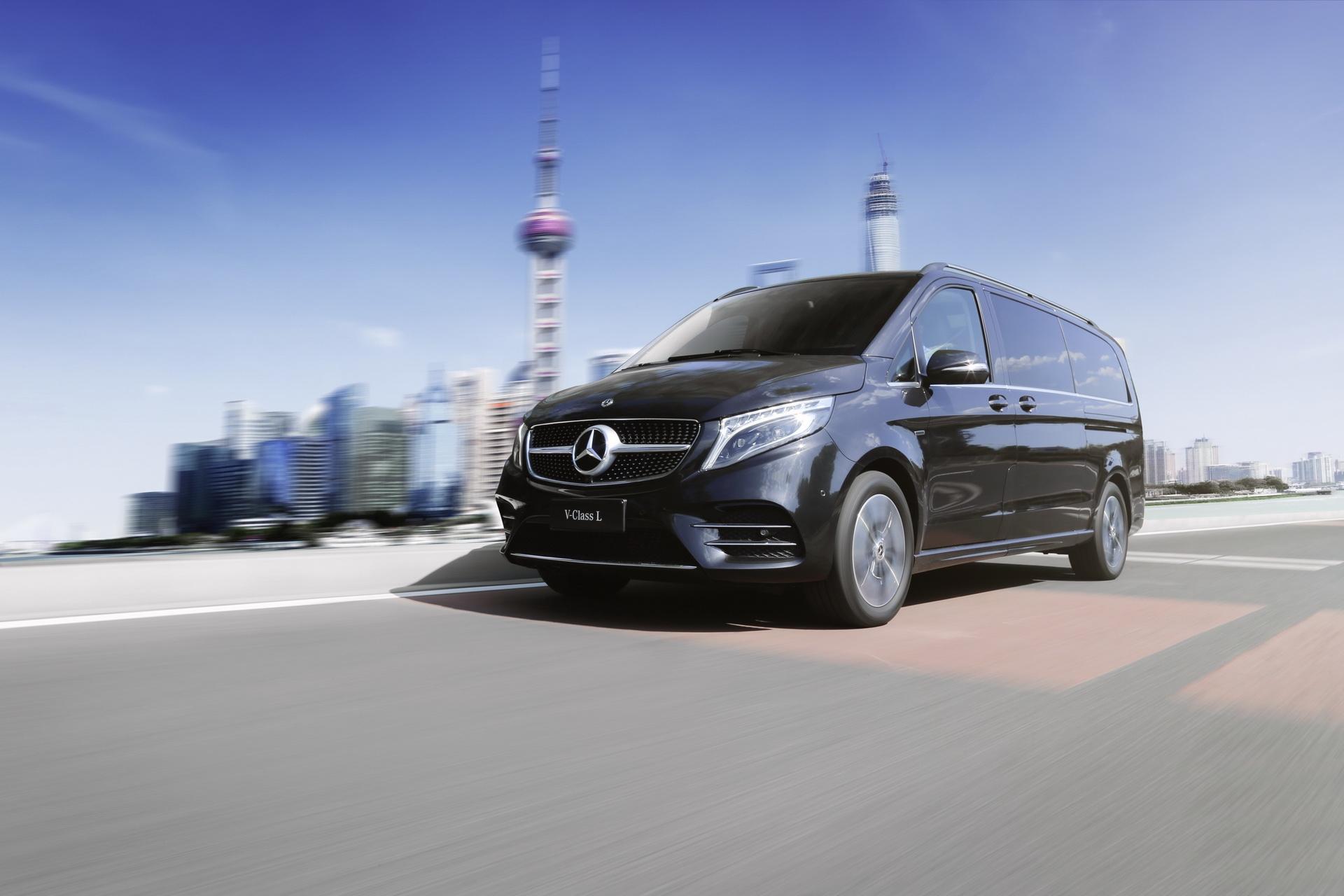 Mercedes Classe V 2021 Cina