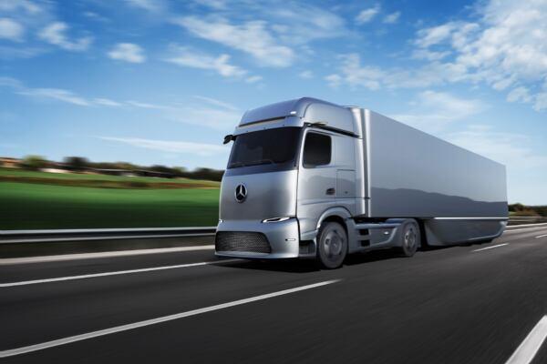 Mercedes GenH2 concept