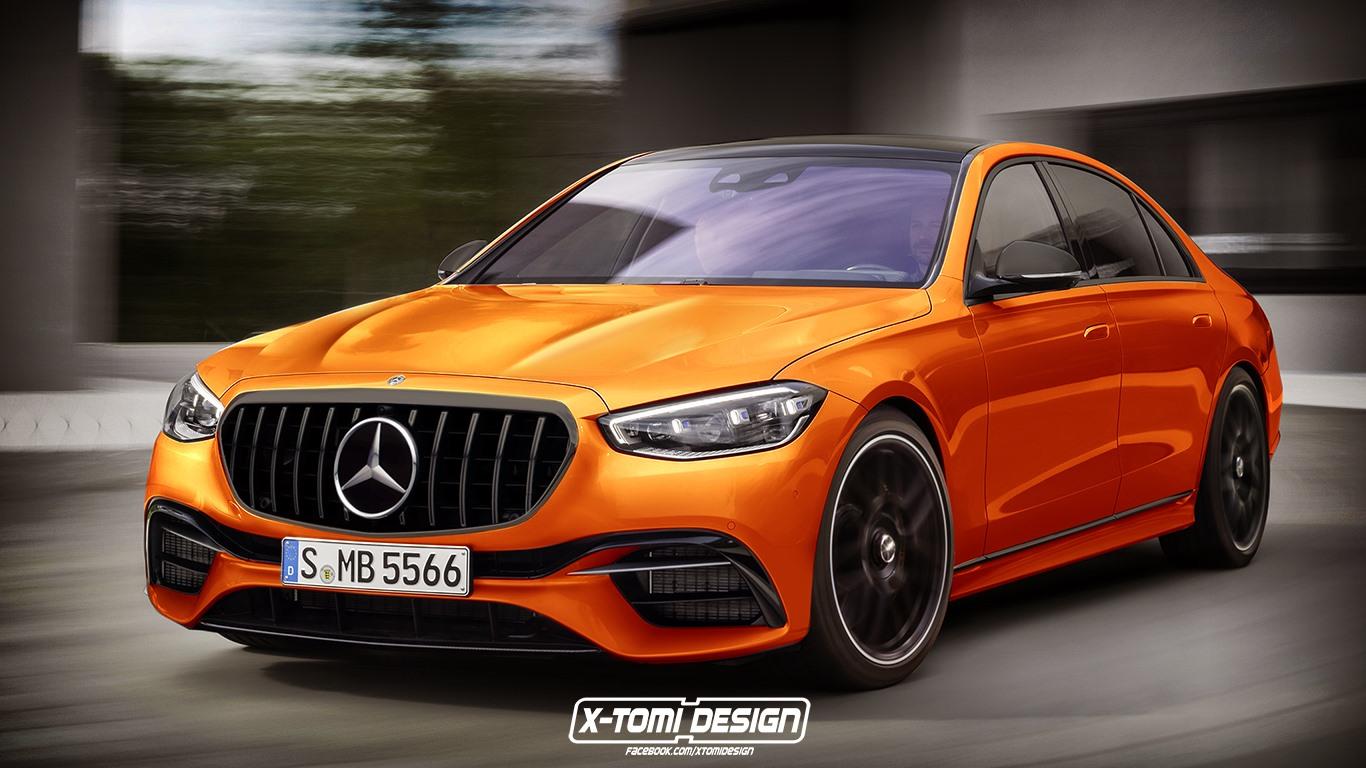 Nuova Mercedes-AMG S 63 render
