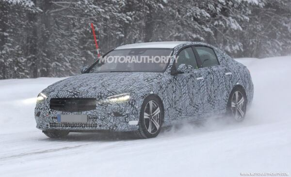 Nuova Mercedes Classe C ultimi prototipi