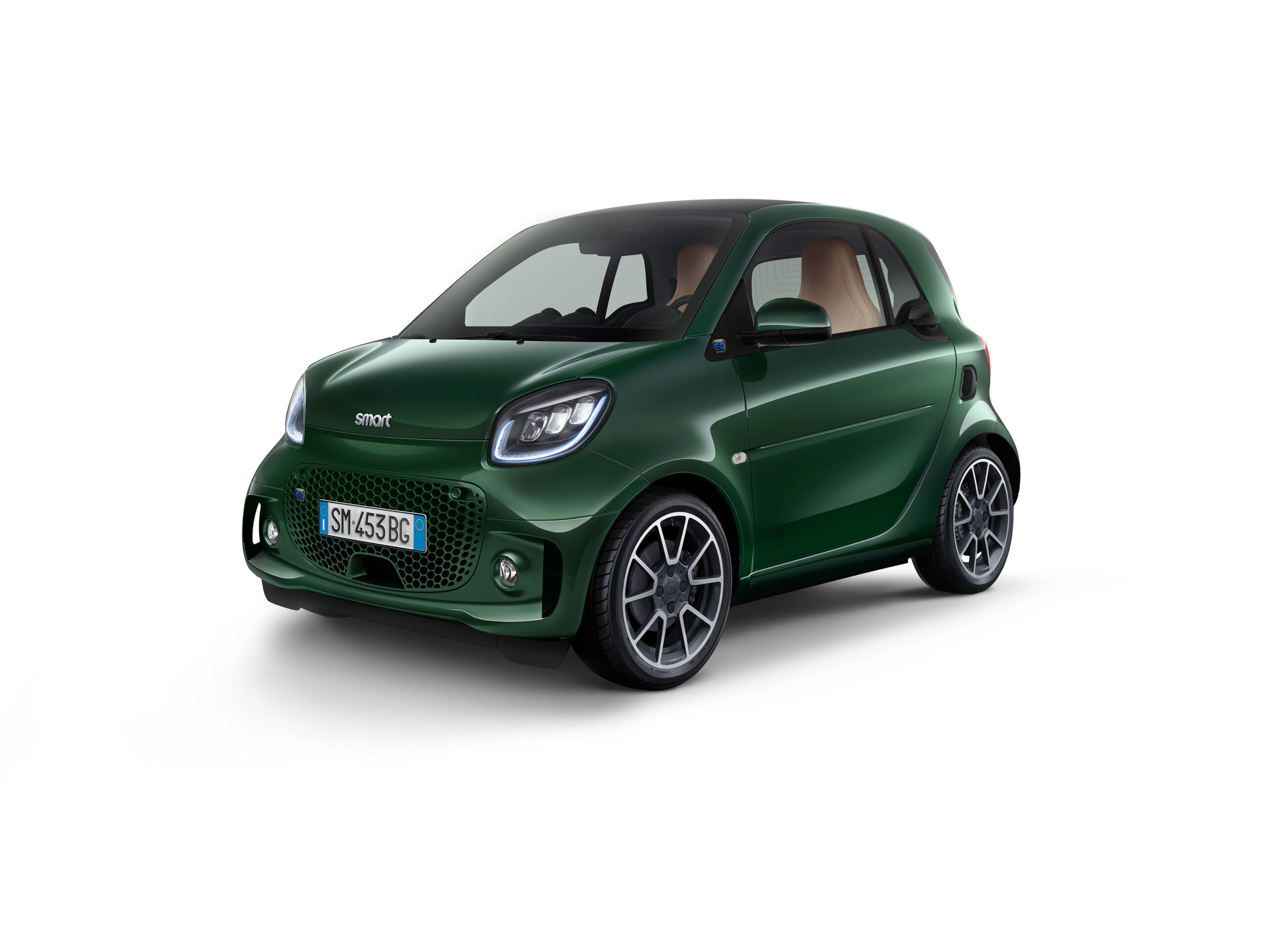 Smart EQ ForTwo British Green