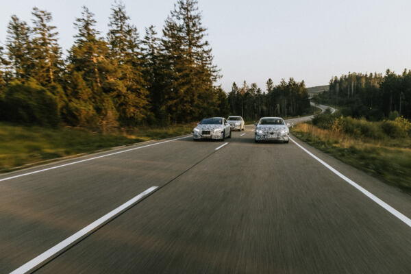 EQS kommt 2021 und ist erstes Modell auf der neuen Elektroarchitektur: Sechs neue EQ Modelle: Mercedes-Benz erweitert Elektroauto-PortfolioEQS arrives in 2021 and is the first model built on the new electric architecture: Six new models from EQ: Mercedes