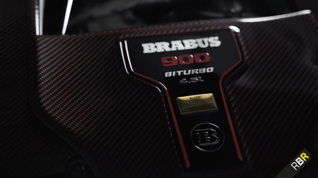 Brabus Rocket 900 Remote Before Race