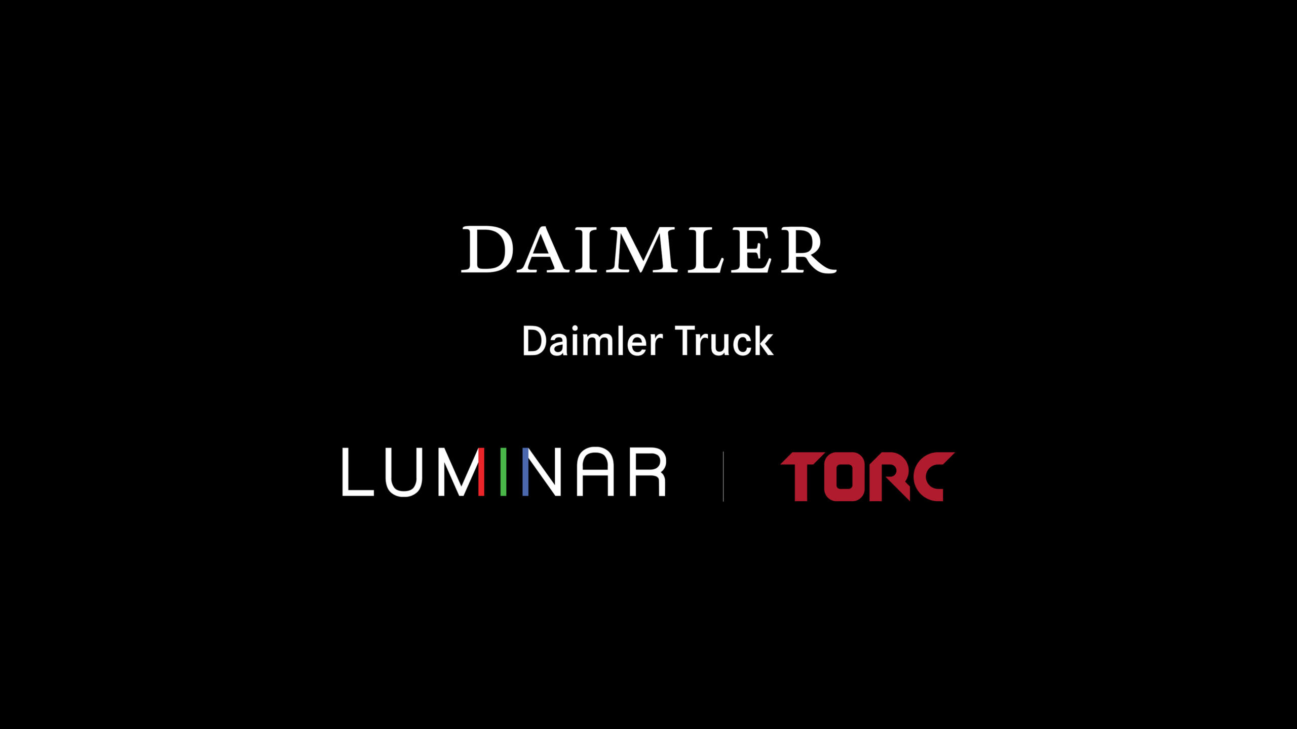 Daimler Trucks Luminar accordo
