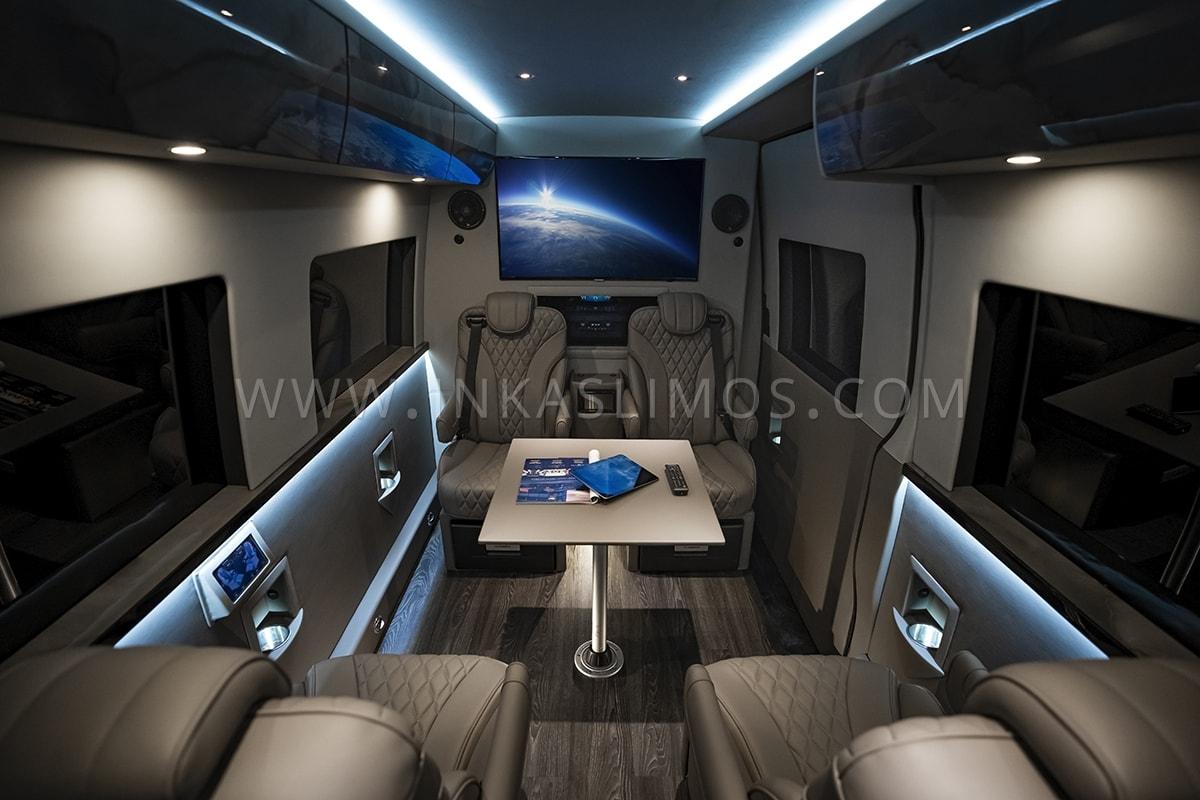 Inkas VIP Mobile Office Mercedes Sprinter