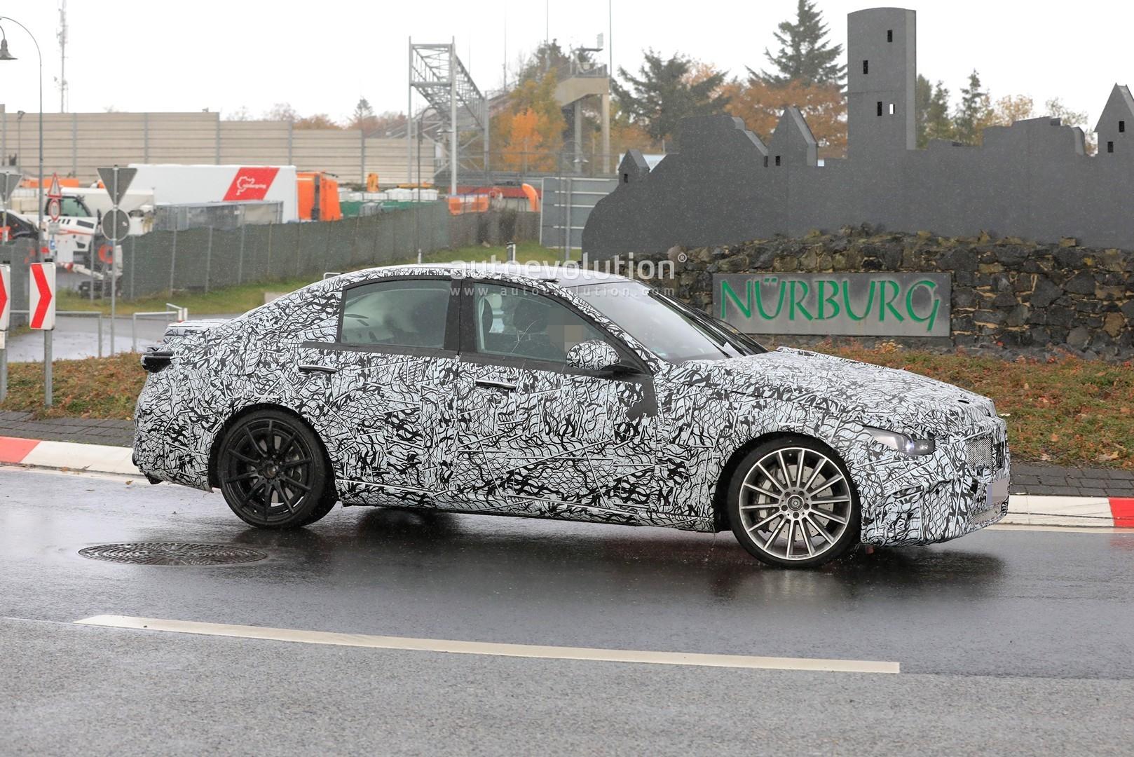 Mercedes-AMG C 53 2022 foto spia