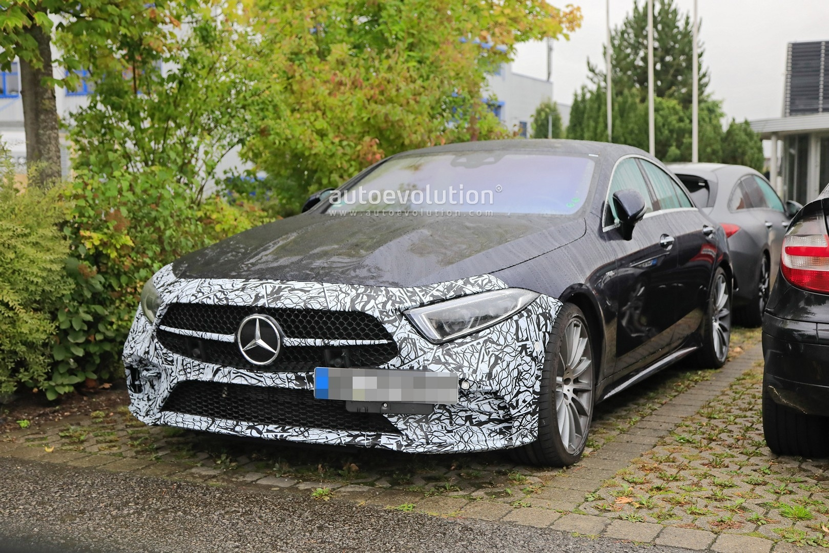 Mercedes-AMG CLS 53 nuovo restyling foto spia
