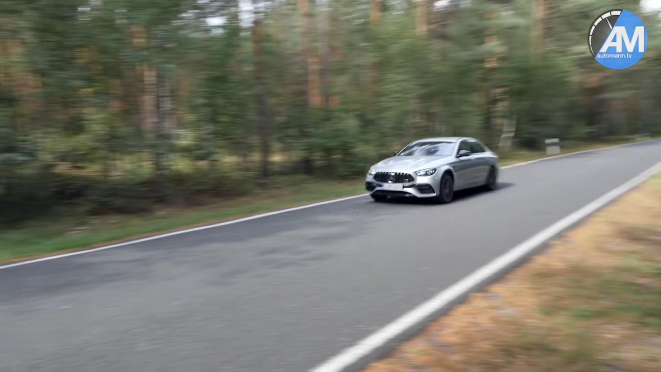 Mercedes-AMG E 63 S 2021 test velocità