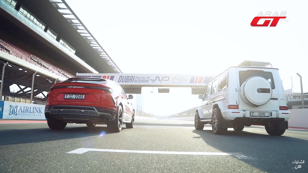 Mercedes-AMG G 63 vs Lamborghini Urus drag race