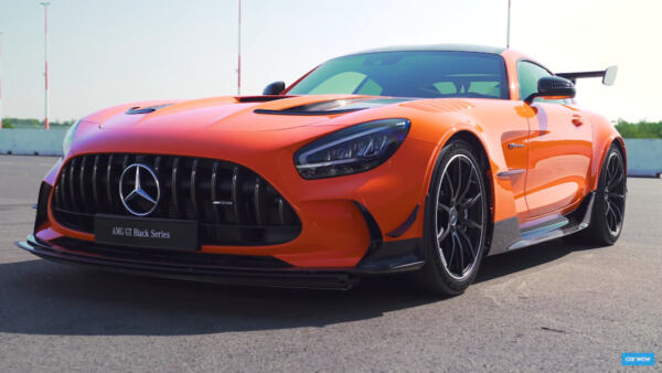 Mercedes-AMG GT Black Series Carwow