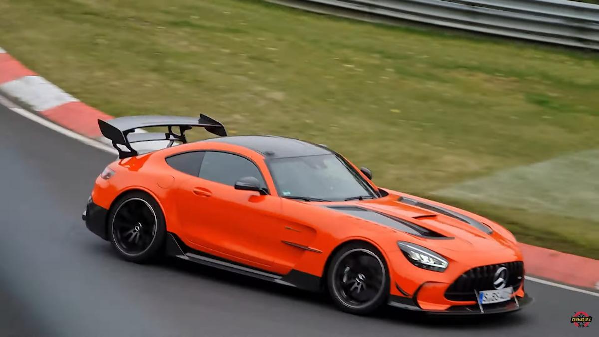 Mercedes-AMG GT Black Series Nurburgring record