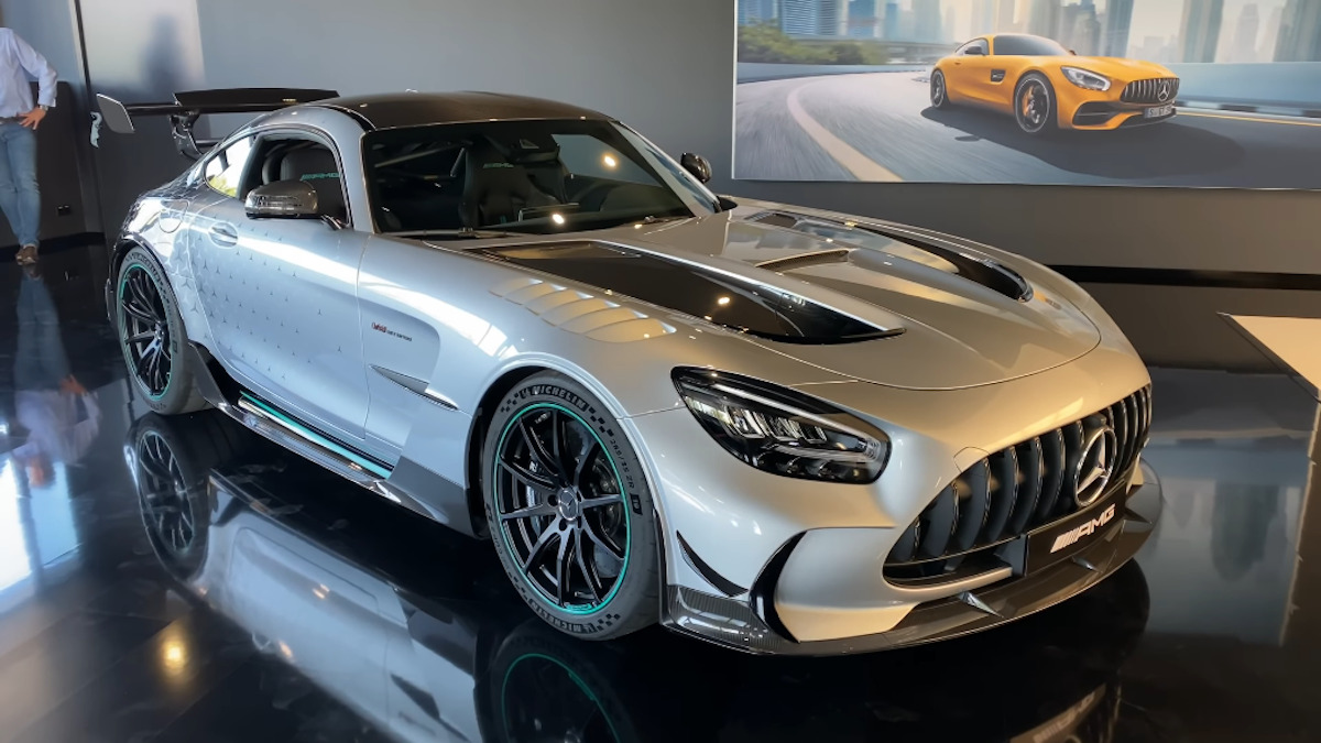Mercedes-AMG GT Black Series P One Edition video