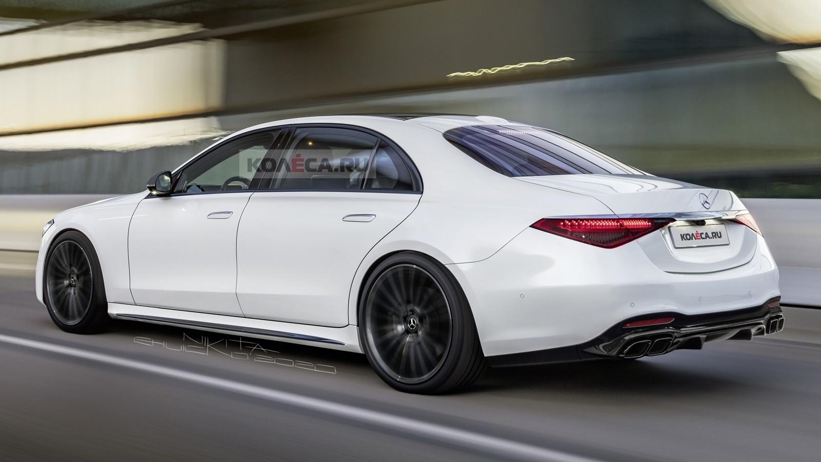 Mercedes-AMG S 63 2022 render