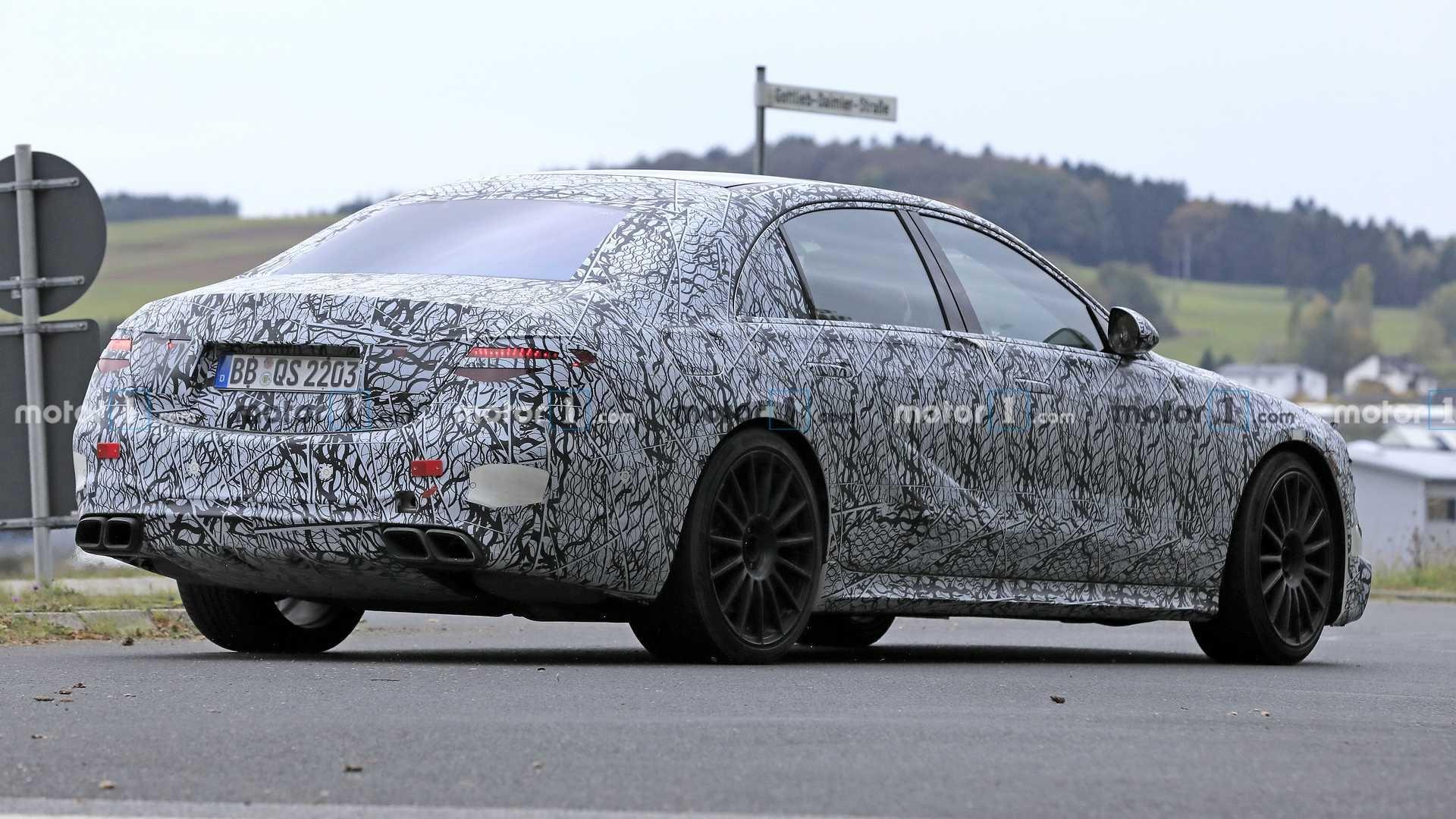 Mercedes-AMG S 63 e foto spia