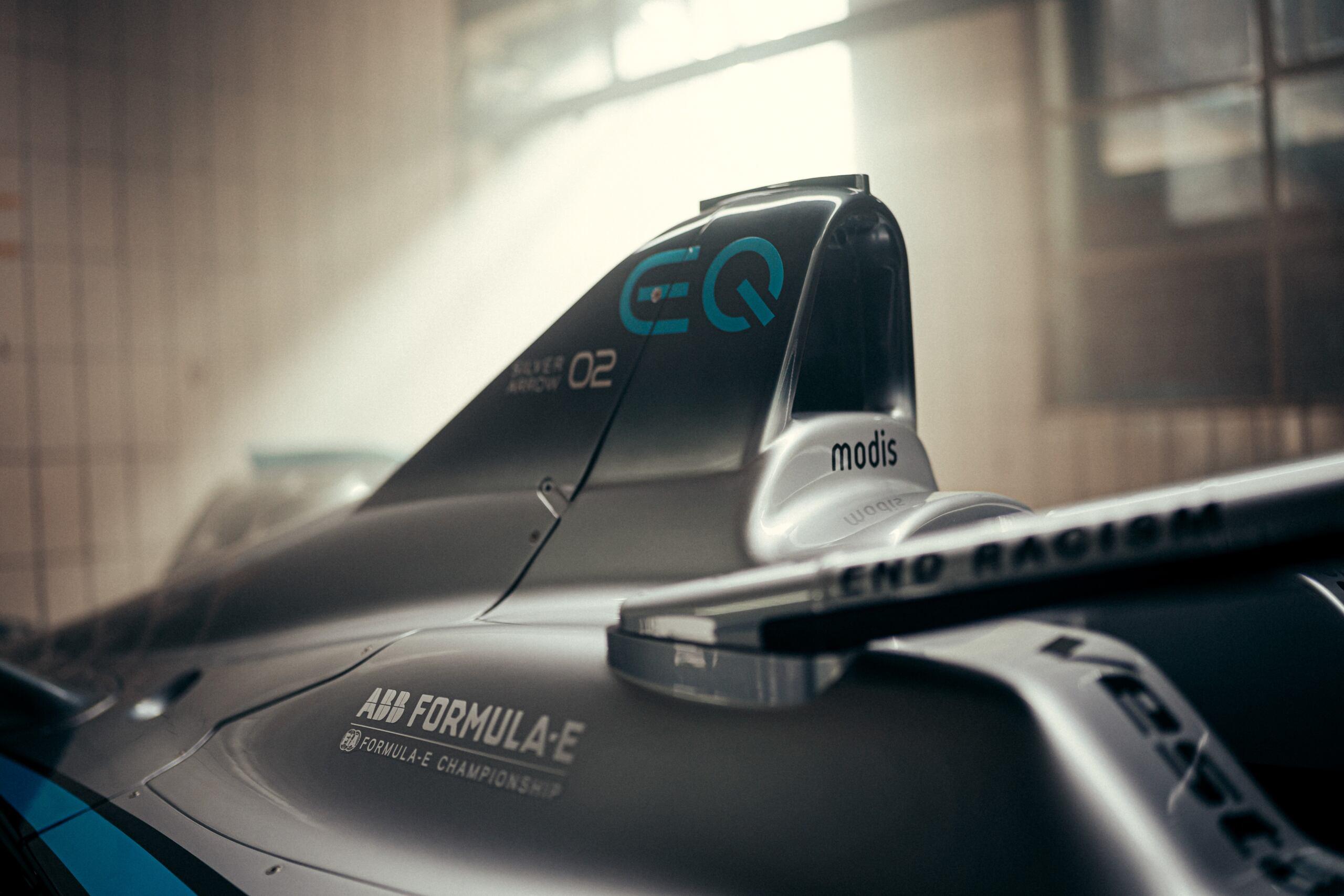 Mercedes-Benz EQ Formula E Team Modis partnership