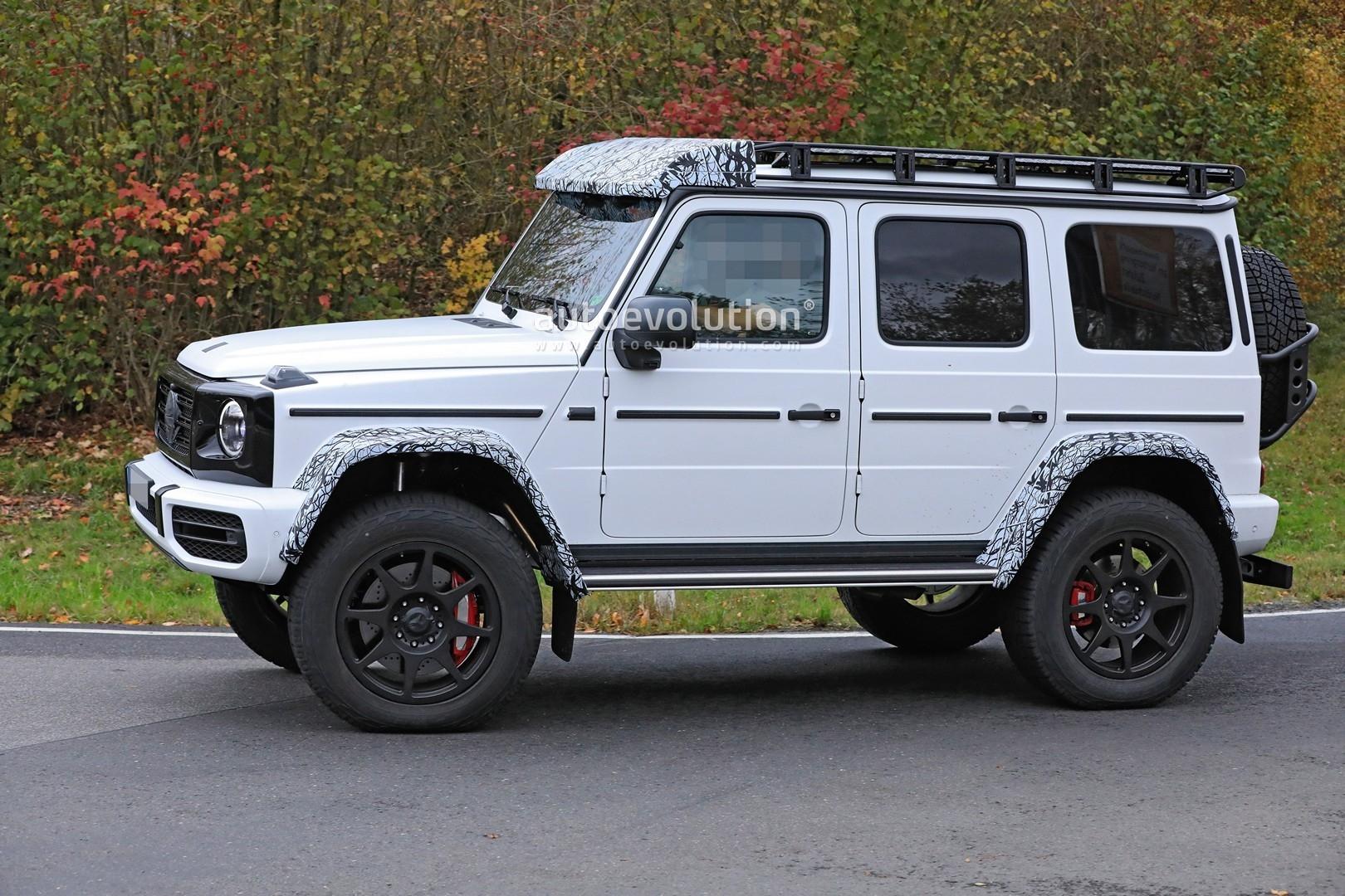 Mercedes-Benz G550 4×4² 2022 foto spia