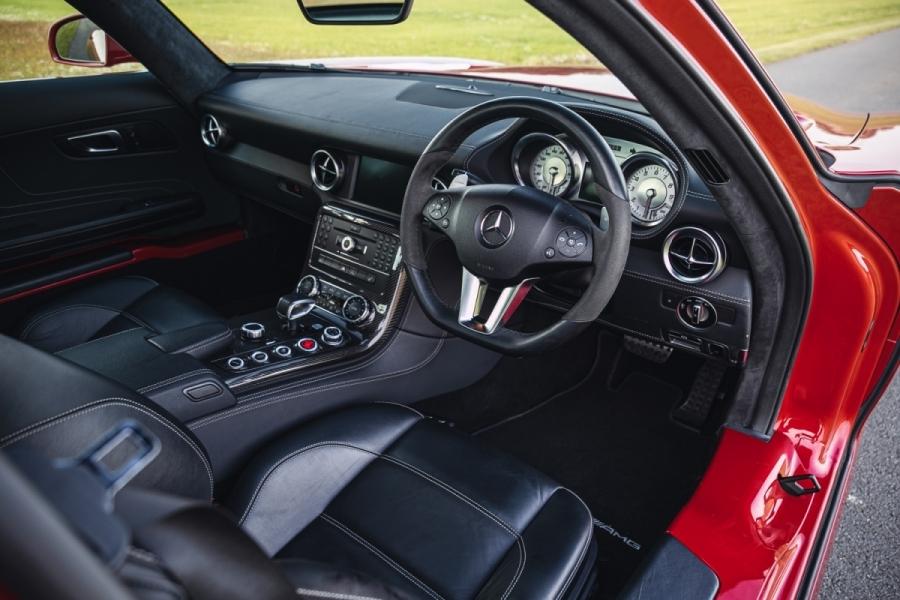 Mercedes-Benz SLS AMG 2011 asta