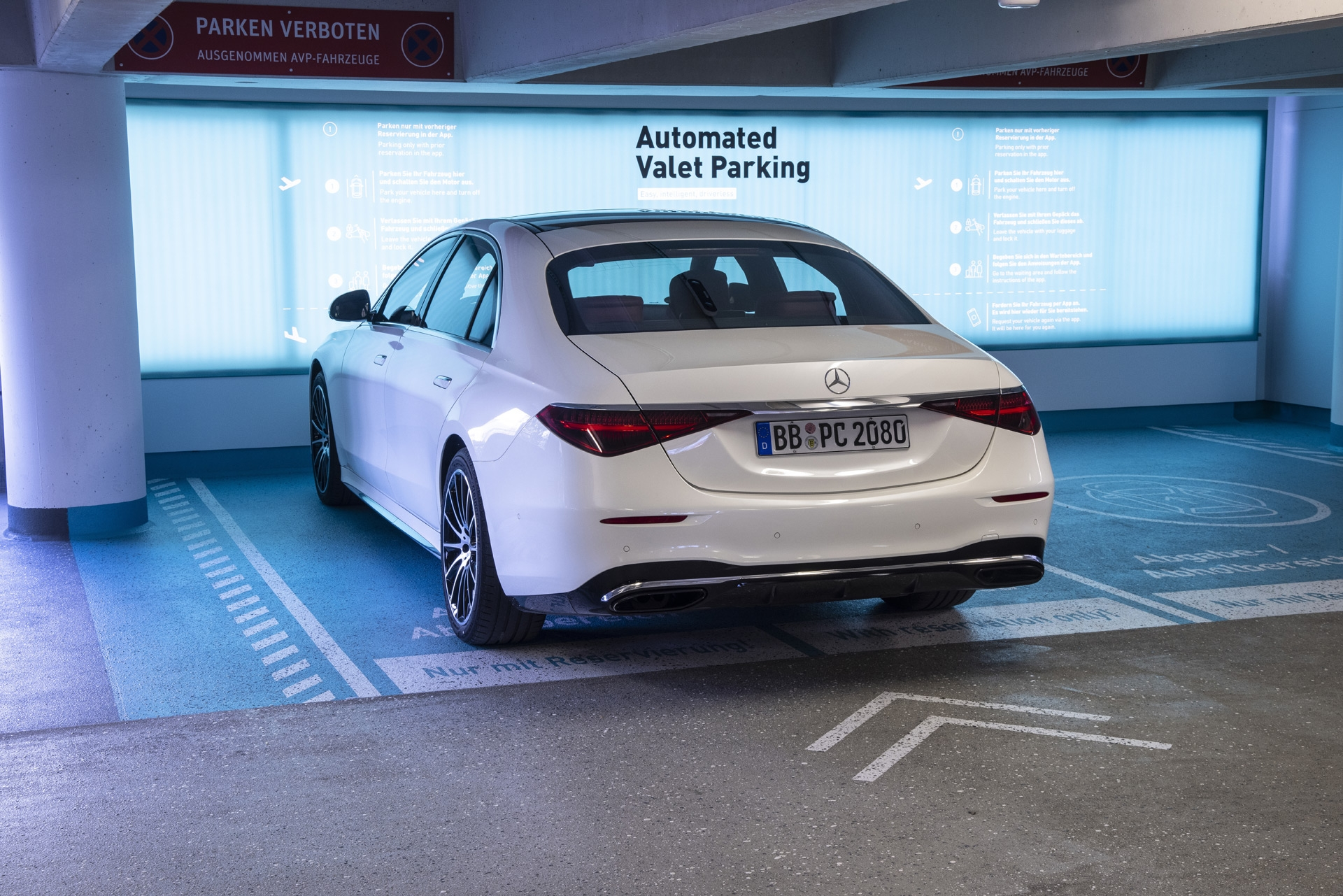 Mercedes Bosch parcheggio automatizzato