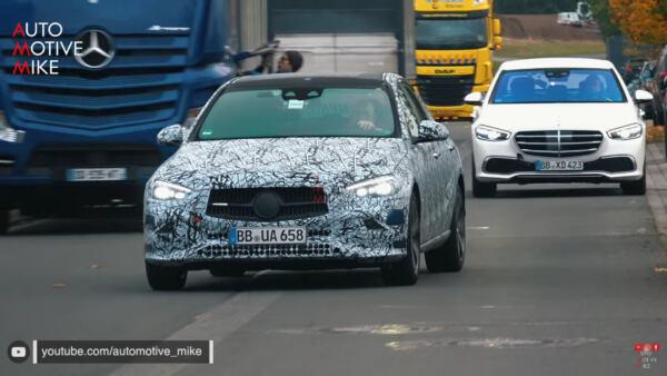 Mercedes Classe C 2022 avvistata sul Circuito del Nurburgring - MBenz.it