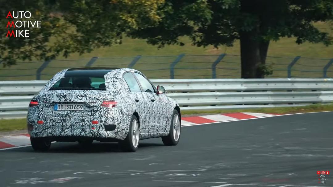 Mercedes Classe C 2022 Nurburgring