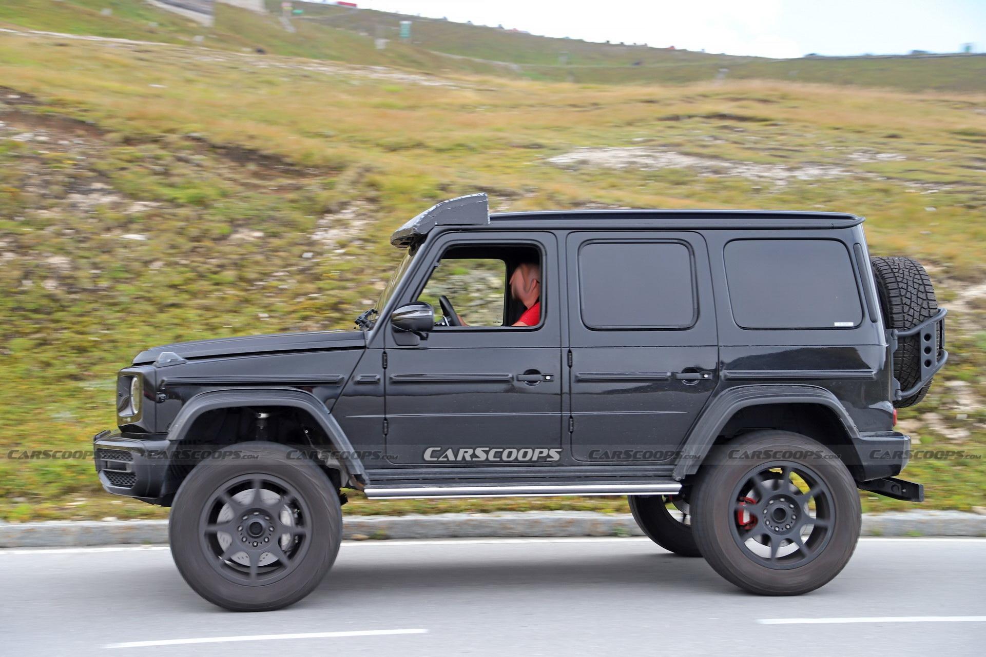 Mercedes Classe G 4×4² 2021 foto spia